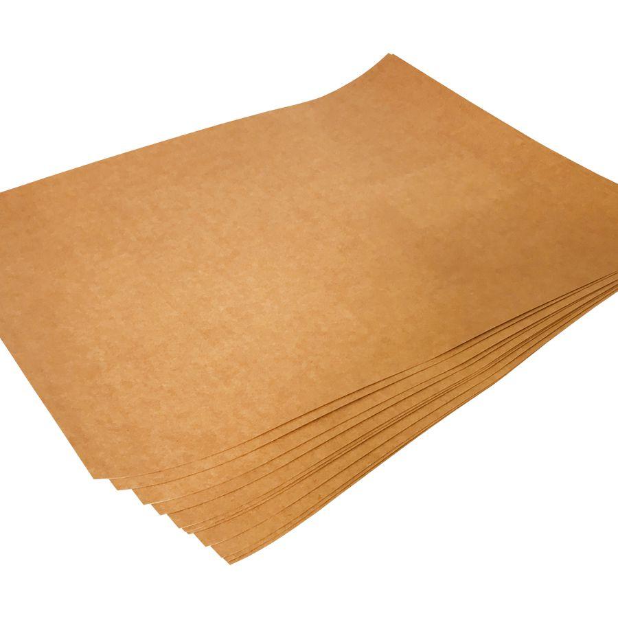 Papel Kraft Cartão 240G 48x66 com 30 folhas  - Loja Onpaper