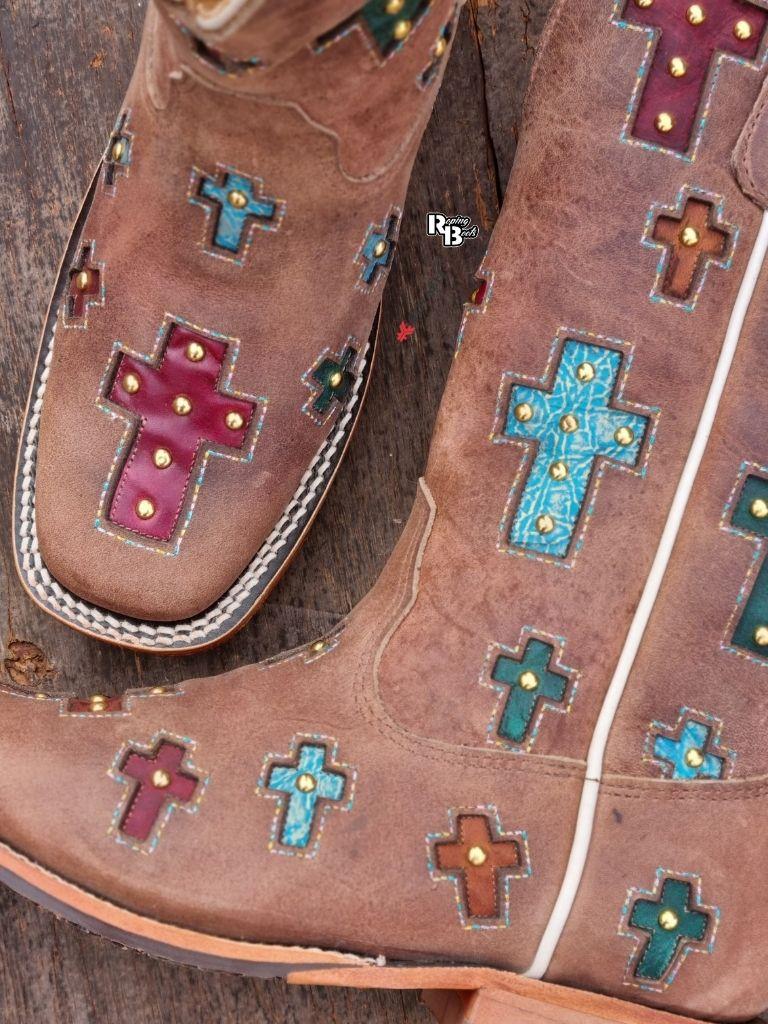 Bota Feminina Goyazes Color Cross Furta Cor