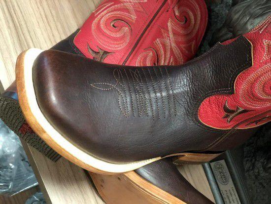 Bota Goyazes Masc Mustang Café/ Atlanta Acerola 174807-CC