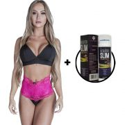 Kit Calcinha Modeladora Pink + Gel Redutor