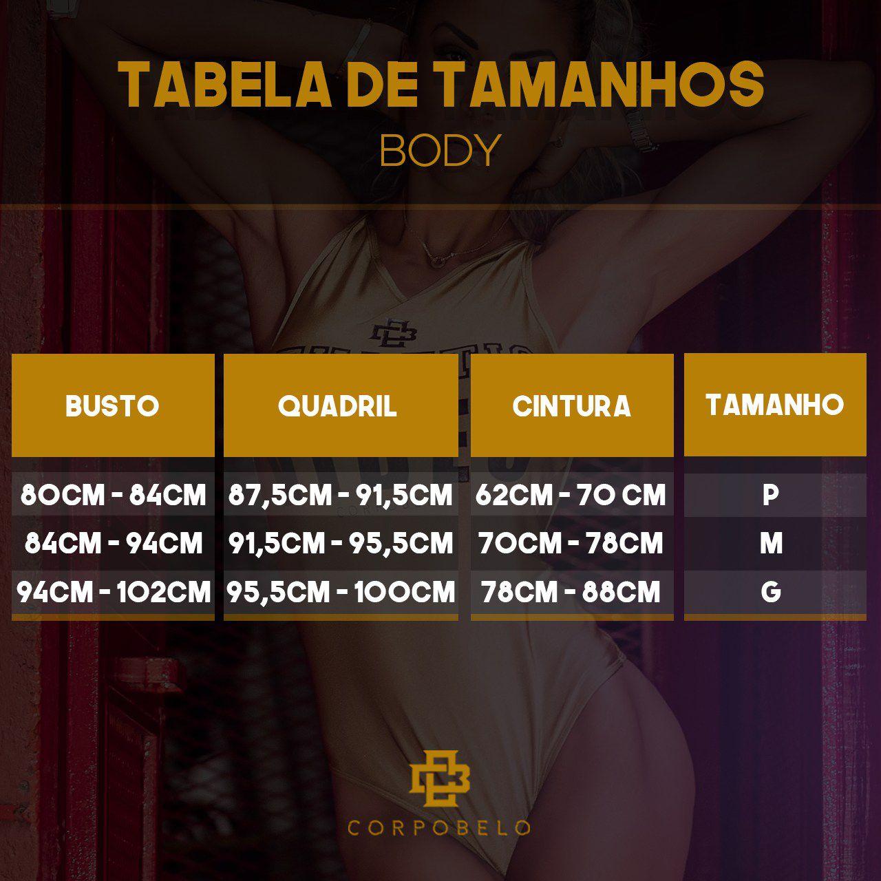 Body Basico Gold Black