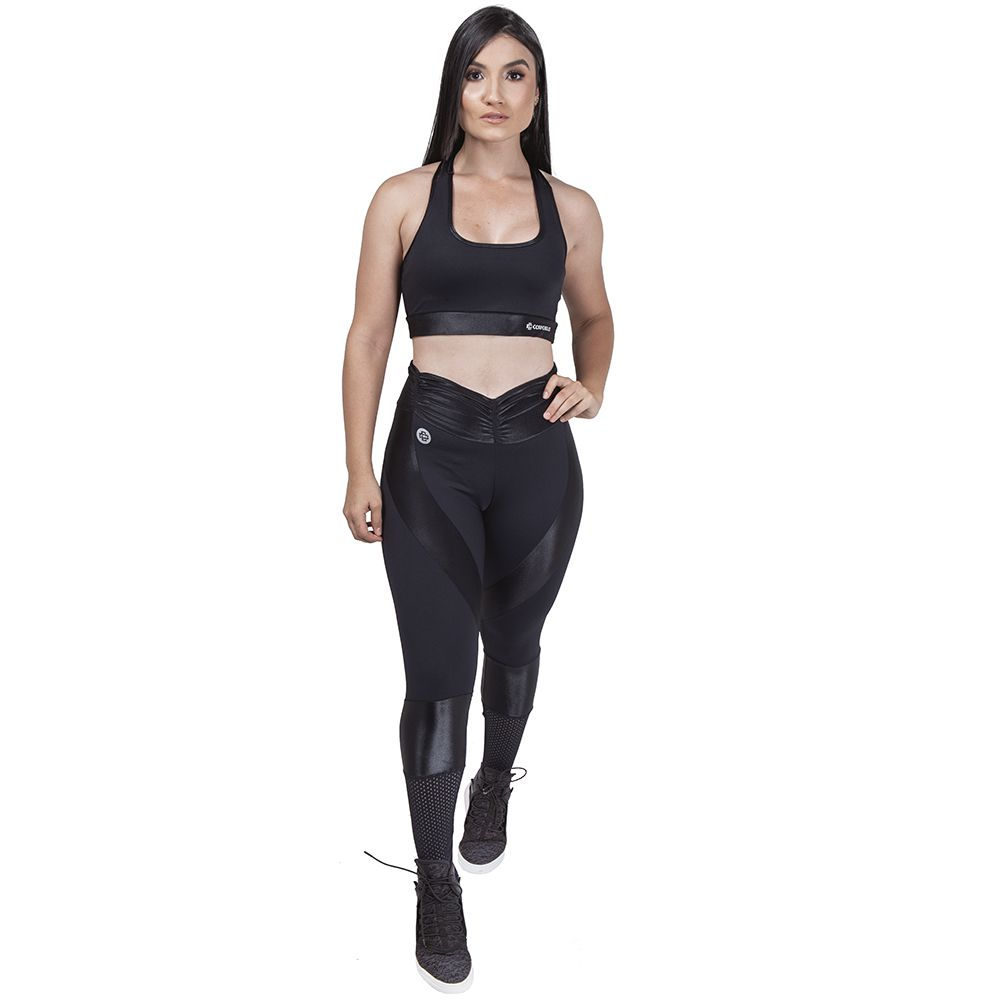 Calça Legging Dimension - Preto