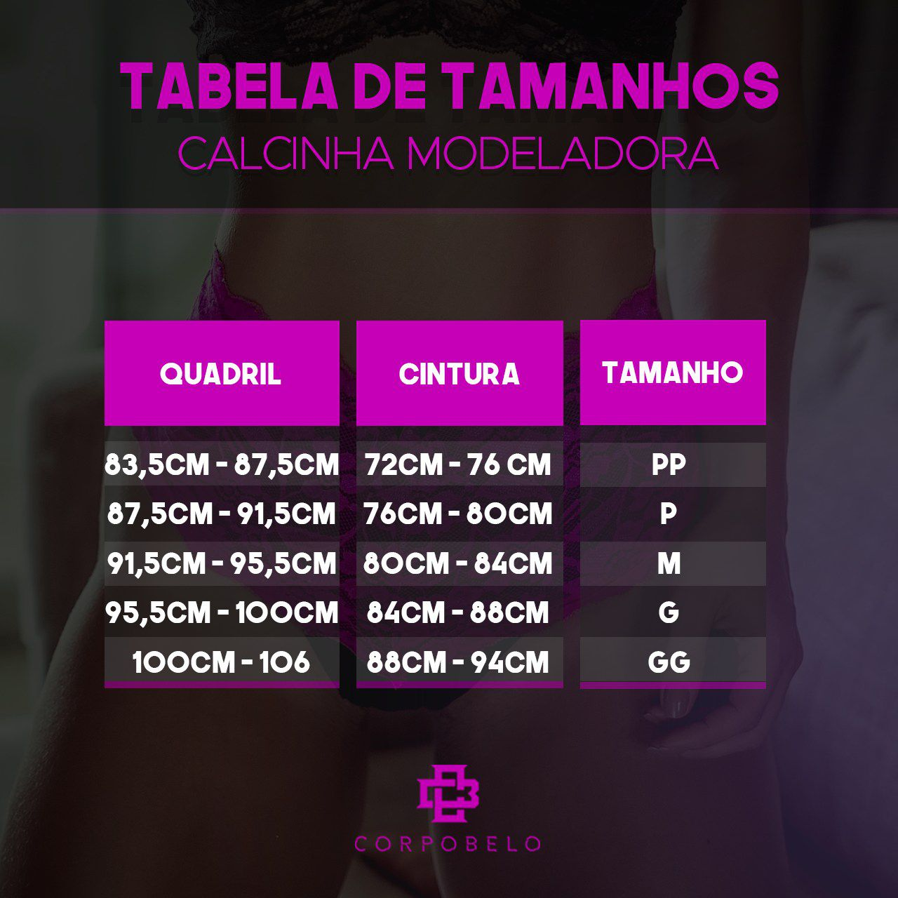 CALCINHA MODELADORA FIO - PRETO