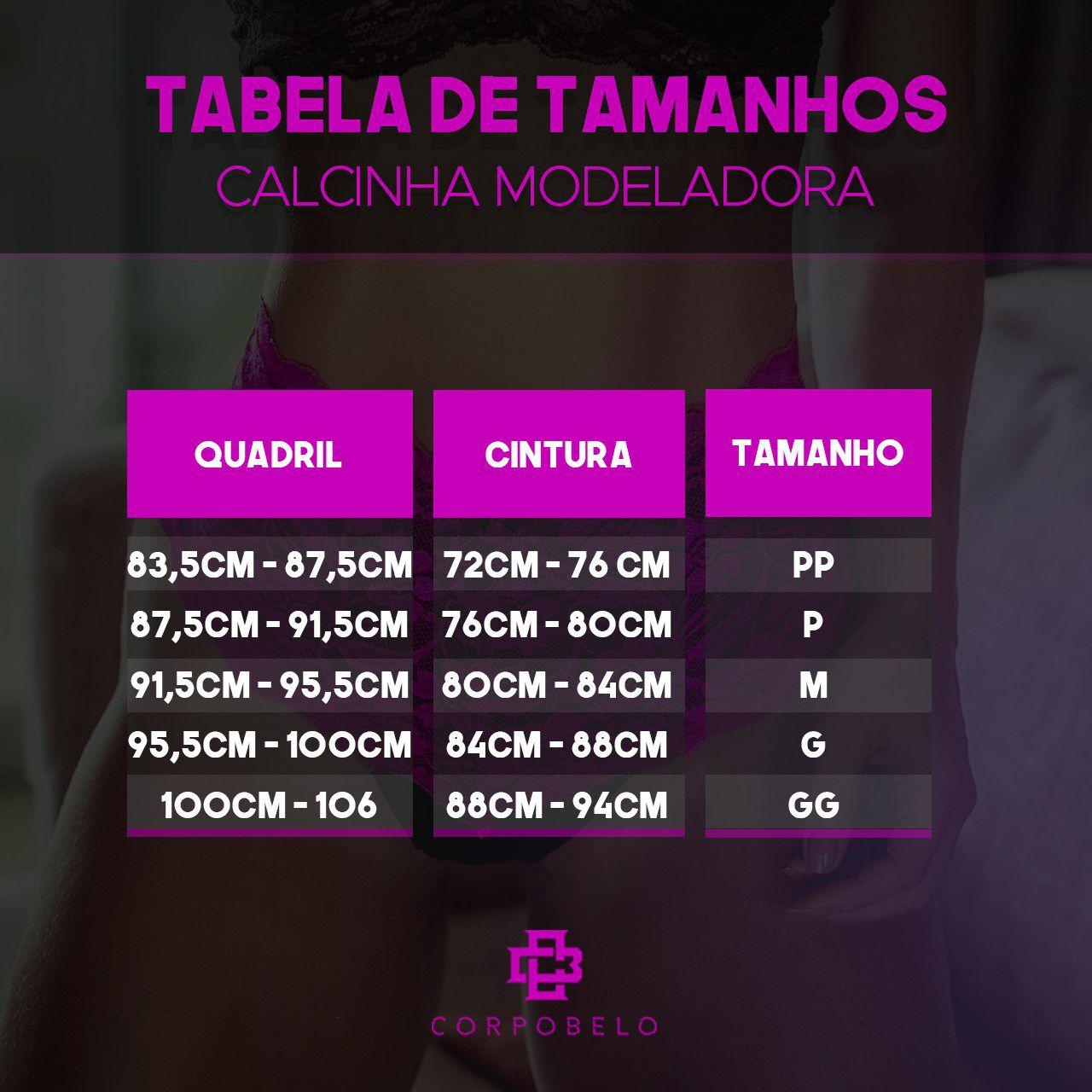 Calcinha Modeladora - Pink