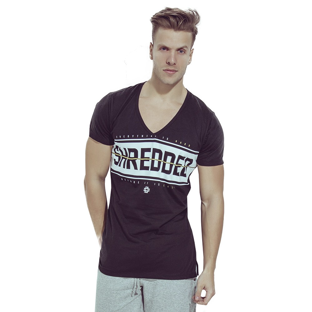 Camiseta V Shredded