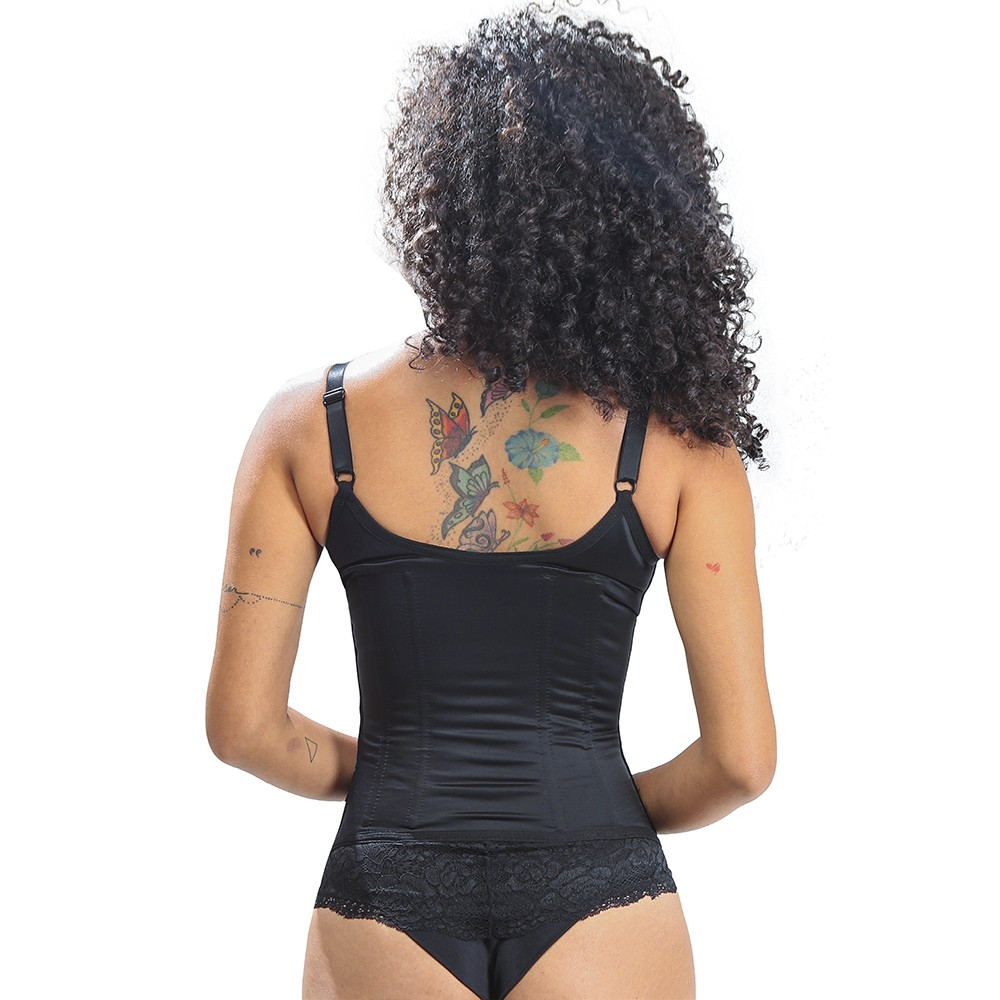 Corpet Basic Seductive Longo - Preto