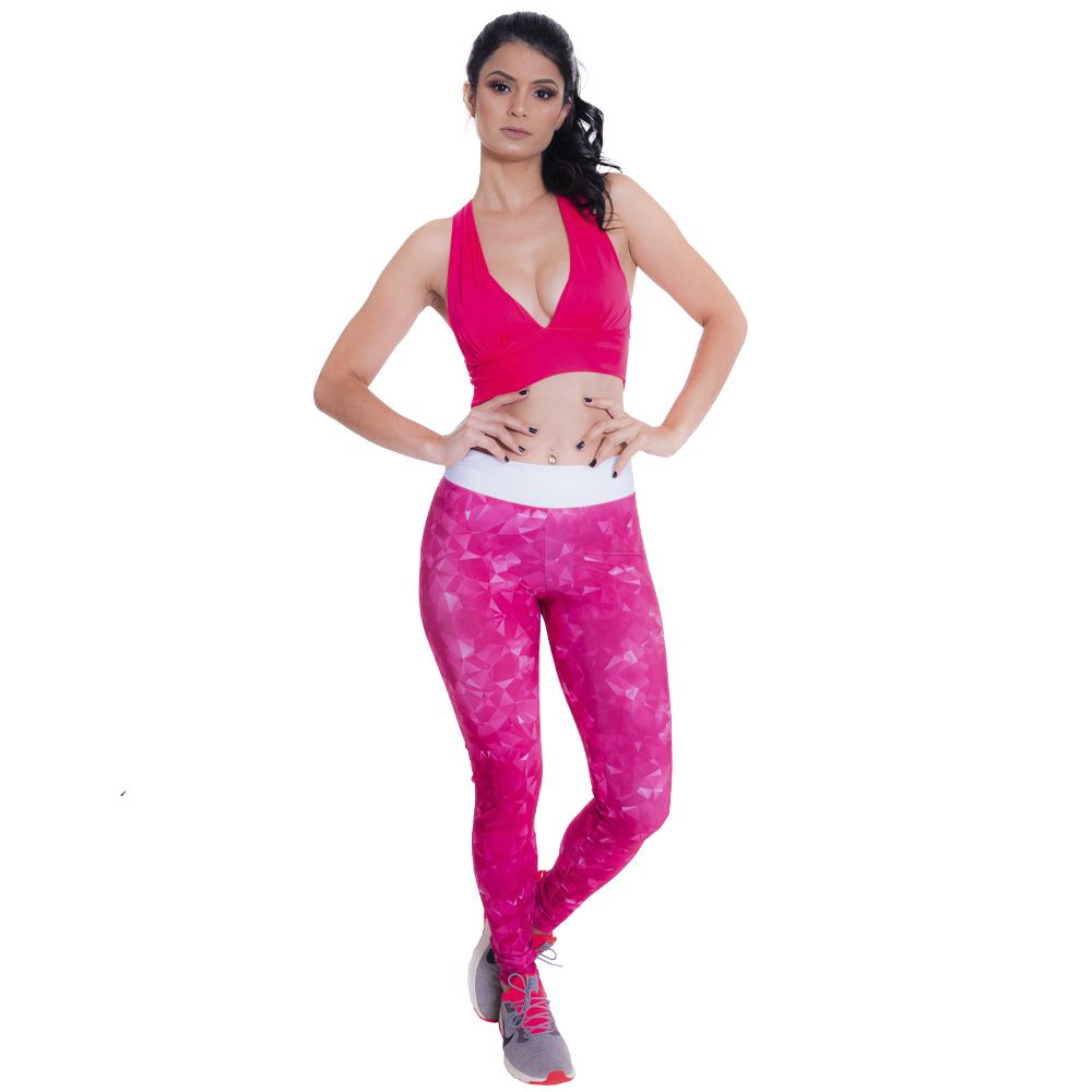 Legging Featured Fit - Pink