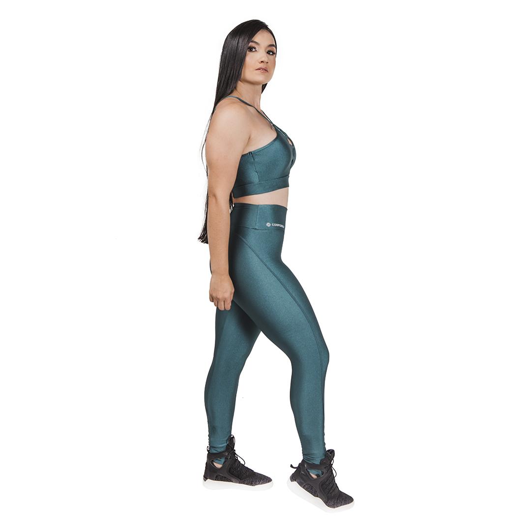 Legging Fitness Mystic - Verde