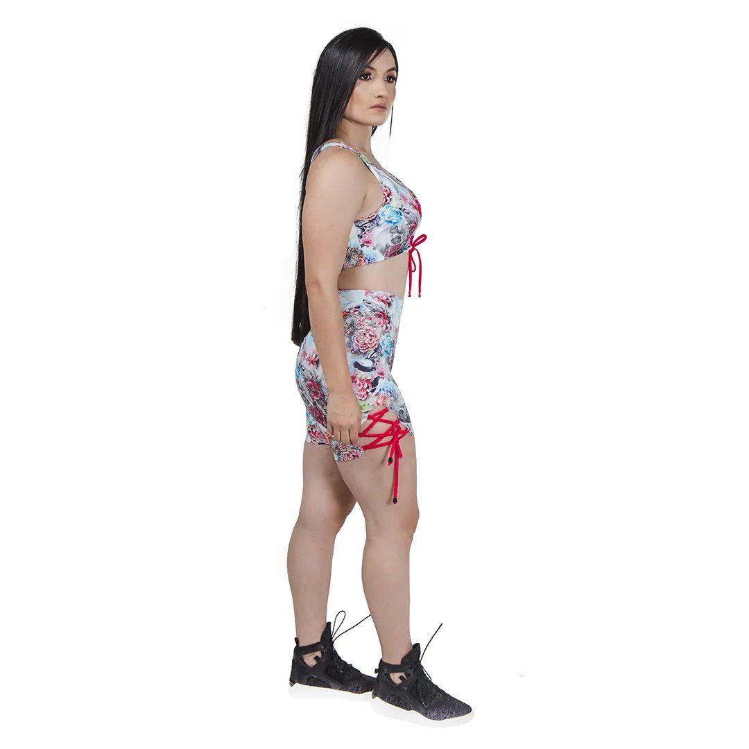 Short Fitness Summer Collor - Estampado