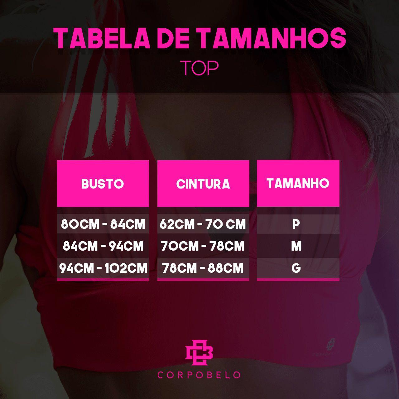 Top Tropical - Vermelho