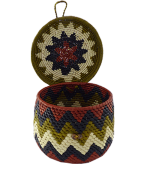 Caixas Decoradas | Arte Indígena | Urucureá M10