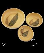 Jogo de Petisqueiras Flora Amazônica |  Cerâmica