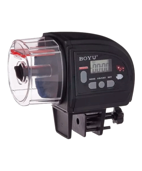 Alimentador automático para peixes BOYU ZW-82  - KAUAR