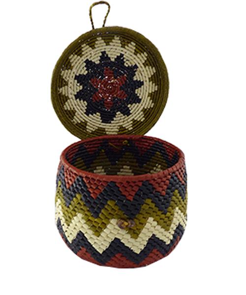 Caixas Decoradas | Arte Indígena | Urucureá M10  - KAUAR