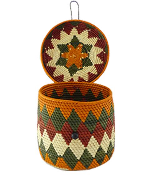 Caixas Decoradas | Arte Indígena | Urucureá M11  - KAUAR