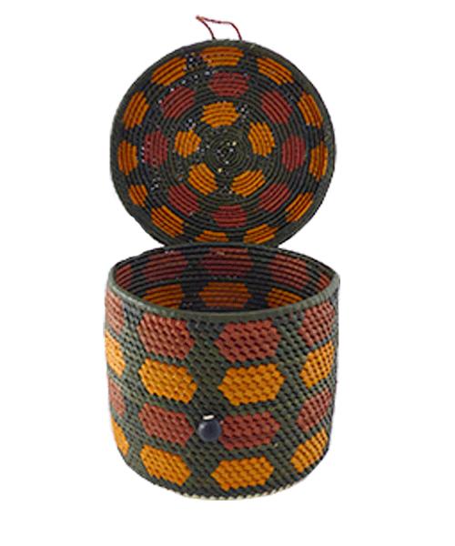 Caixas Decoradas   Arte Indígena   Urucureá M9  - KAUAR