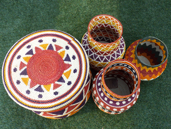 Cesto Indígena Urucureá   Arte Indígena  - KAUAR