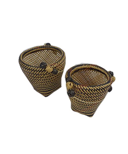 Dupla de Vasos Decorativos | Arte Indígena | Baniwa M5  - KAUAR
