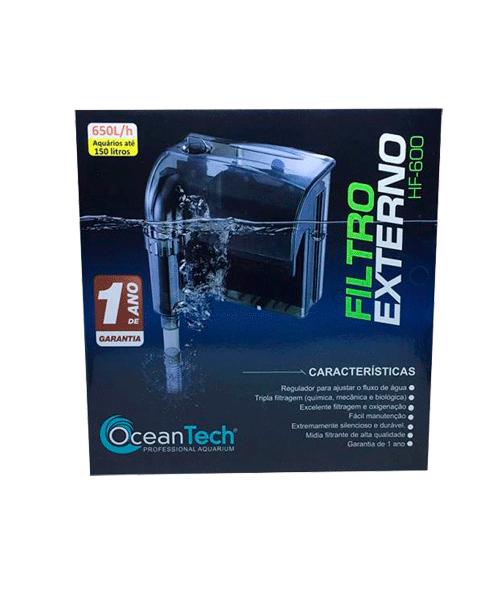 Filtro externo para aquário HF-0600 Ocean Tech   - KAUAR