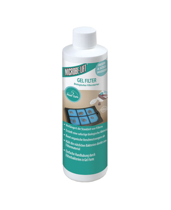 Gel Filter Cartridge Inoculant | Ativador biológico  - KAUAR