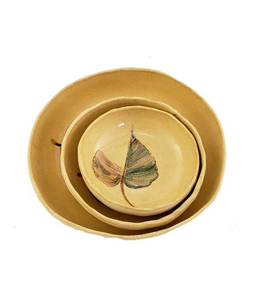 Jogo de Petisqueiras Flora Amazônica |  Cerâmica  - KAUAR