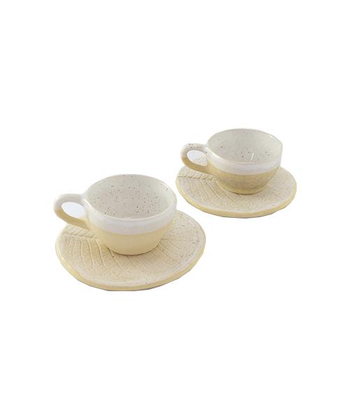 Jogo de Xícaras de Café Pequi | Cerâmica  - KAUAR