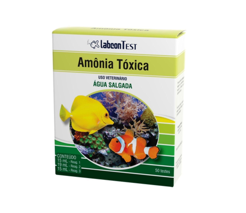 Labcon Amônia | Teste para aquário | Água Salgada  - KAUAR