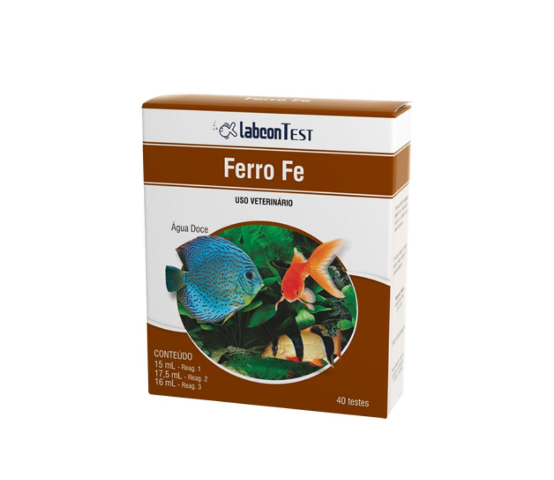 Labcon Ferro | Teste de aquário   - KAUAR