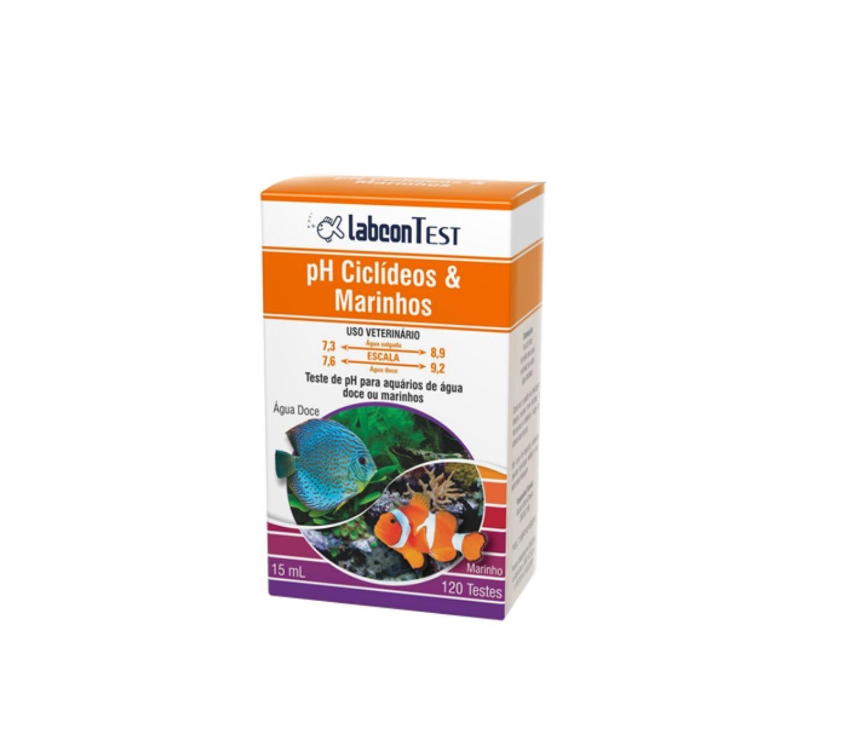 Labcon Ph | Teste de aquário | Ciclídeos Marinho   - KAUAR