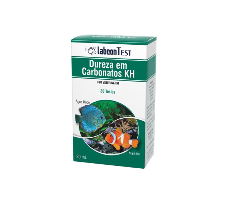 Labcon Teste Dureza em Carbonatos KH | Teste para aquário  - KAUAR