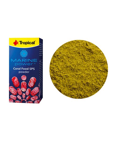 Tropical Marine Power Coral Food SPS Powder | Ração para Peixes  - KAUAR