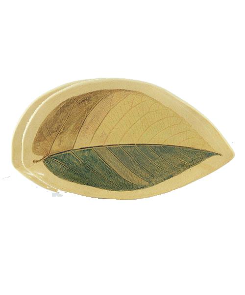 Petisqueira Folha Pau Jangada | Cerâmica  - KAUAR
