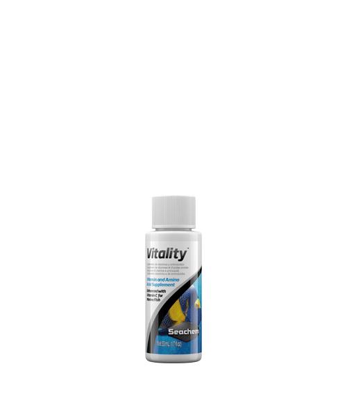 Seachem Food Vitality | Suplemento vitamínico para peixes  - KAUAR
