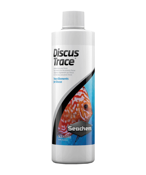 Seachem Freshwater Discus Trace | Condicionador de Água  - KAUAR