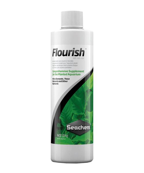 Seachem Freshwater Flourish | Suplemento para plantas de aquário  - KAUAR