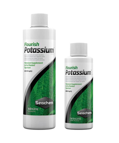 Seachem Freshwater Flourish Potassium | Suplemento para plantas de aquário  - KAUAR