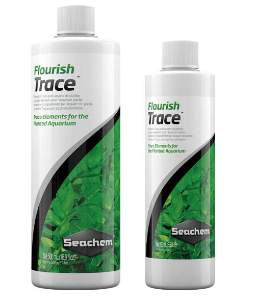 Seachem Freshwater Flourish Trace | Suplemento para plantas de aquário  - KAUAR