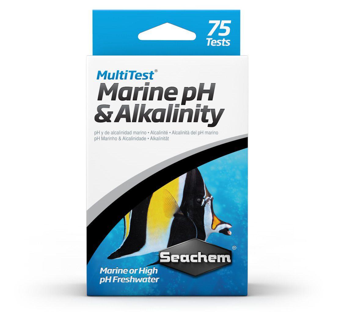 SEACHEM MULTITEST PH & ALKALINITY TESTS | TESTE DE AQUÁRIO  - KAUAR