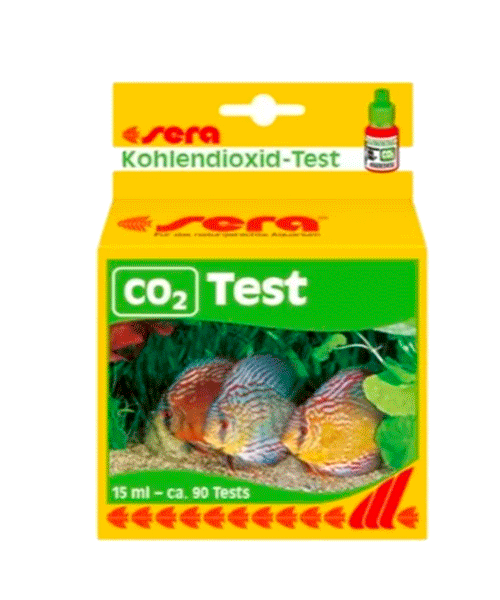 SERA CO2 TEST   TESTE DE AQUÁRIO  - KAUAR