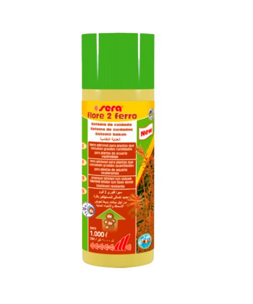 Sera Flore 2 Ferro | Suplemento para Plantas   - KAUAR