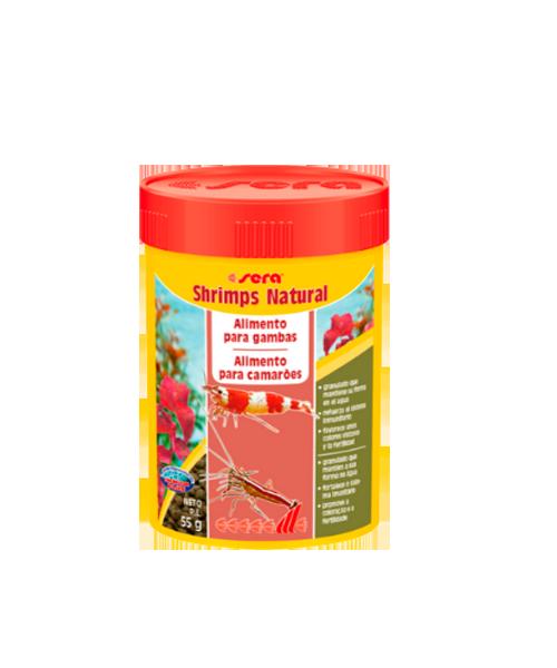 Sera Shrimps Natural | Ração para camarões   - KAUAR