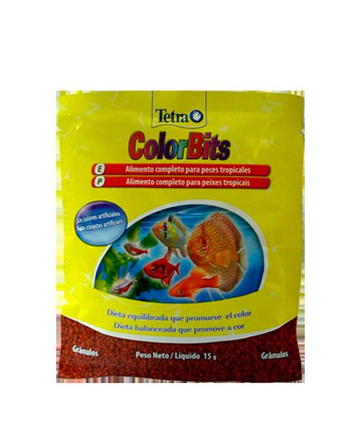 Tetra Colorbits Granules Sachet | Ração para Peixes  - KAUAR
