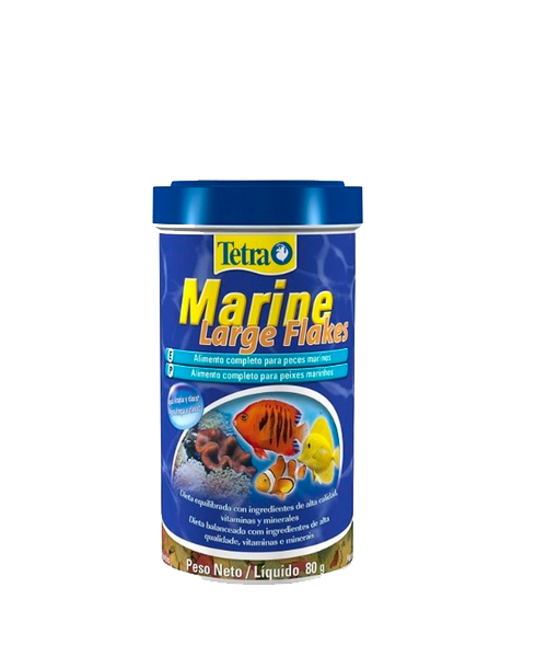 Tetra Marine Large Flakes | Ração para Peixe   - KAUAR