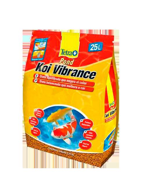 Tetra Pond Koi Vibrance Sticks | Ração para Peixes   - KAUAR