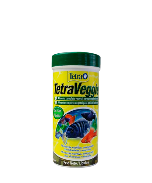 Tetra Veggie Flakes | Ração para Peixes   - KAUAR