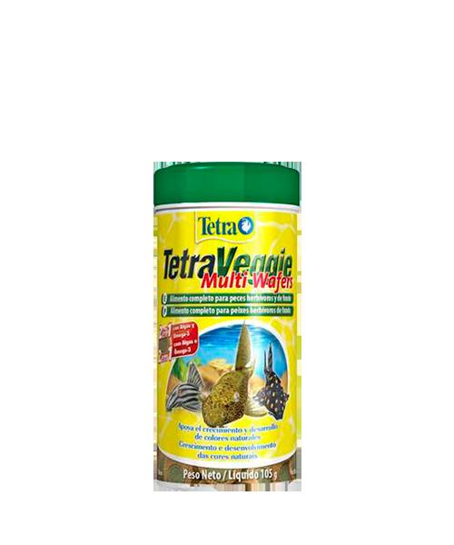 Tetra Veggie Multi Wafers | Ração para Peixes  - KAUAR