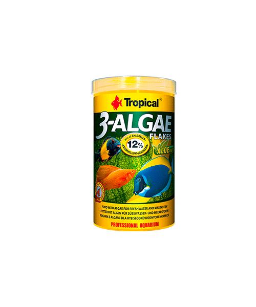 Tropical 3 Algae Flakes | Ração para Peixes  - KAUAR