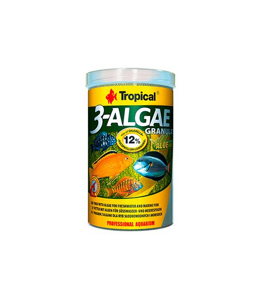Tropical 3 - Algae Granulat | Ração para Peixes   - KAUAR