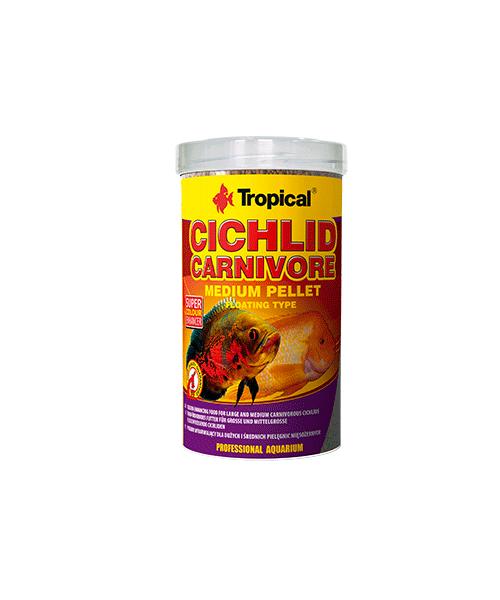 Tropical Cichlid Carnivore Medium Pellet | Ração para Peixes   - KAUAR