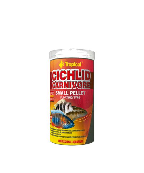 Tropical Cichlid Carnivore Small Pellet | Ração para Peixes  - KAUAR